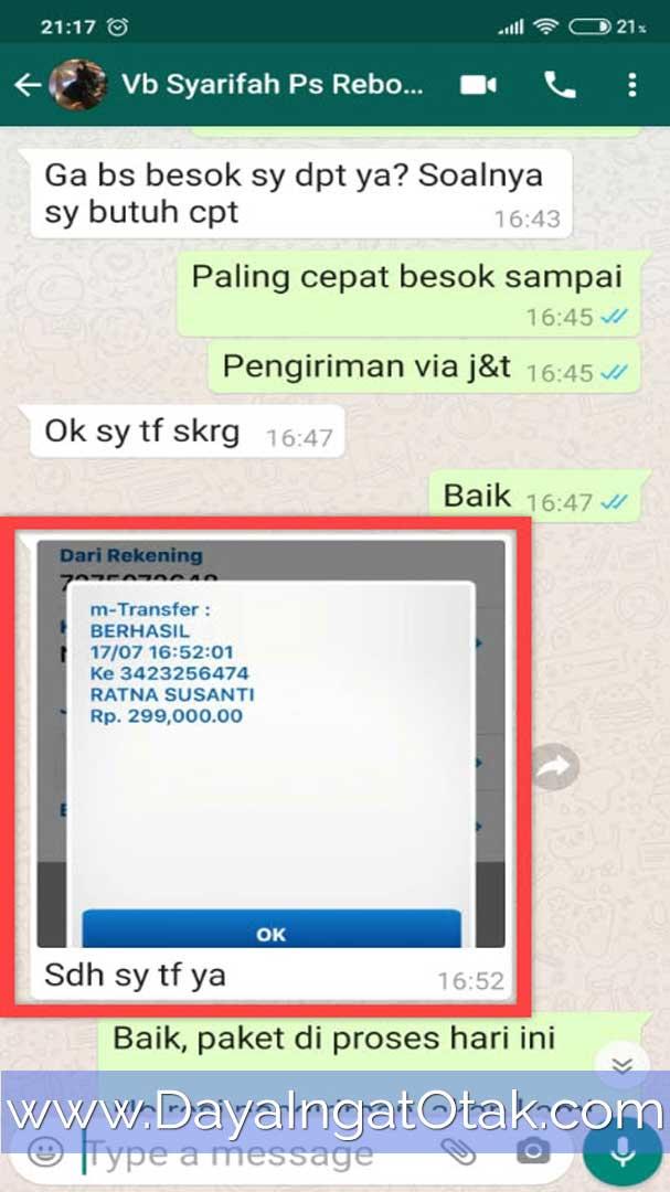 Transfer Bank BCA Jakarta Timur