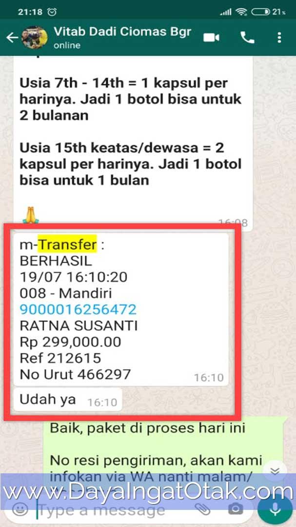 Transfer Bank Mandiri Bogor